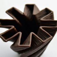 3D Chocolate Print - Hurricane Jack, Side View