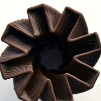 3D Chocolate Print - Hurricane Jack, Top View