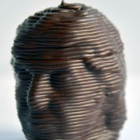 3D Chocolate Print - Paul McCartney Head Side