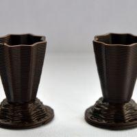 3D Chocolate Print - Star-shaped vases