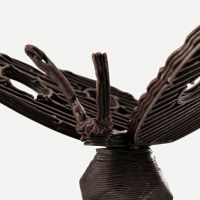 3D Chocolate Print - Butterfly