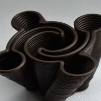 3D Chocolate Print - Yin Yang Hurricane Side