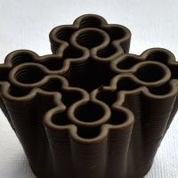 3D Chocolate Print - Flower Bouquet Front