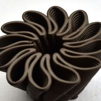 3D Chocolate Print - Petal Power Front