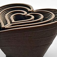 3D Chocolate Printer - Choc Edge - Heart In Heart