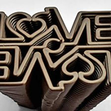3D Chocolate Printer - Choc Edge - Love Mirror