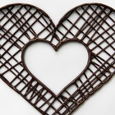 3D Chocolate Printer - Choc Edge - 2D Heart In Heart