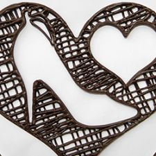 3D Chocolate Printer - Choc Edge - 2.5D Heart & Shoe