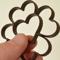 Mini Clover Heart